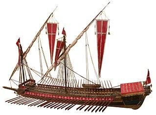 Ett galärfartyg